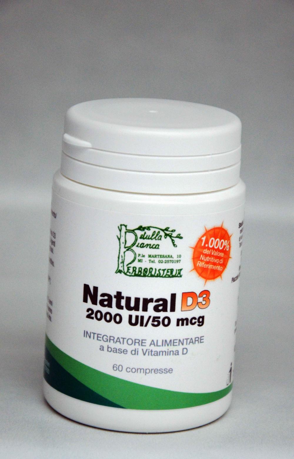 Natural D3 Vitamina D